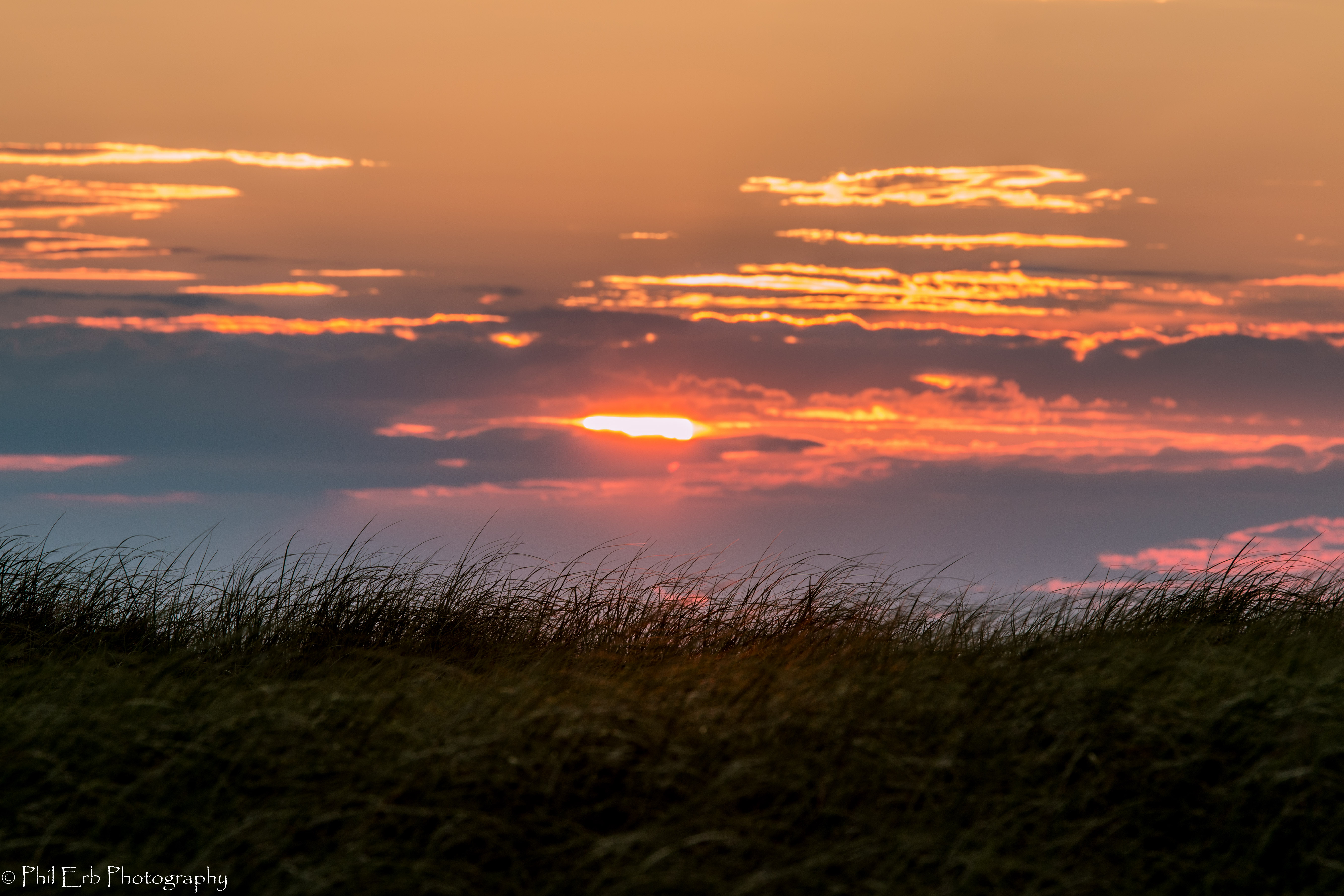 Sunset From Darnley Pei Phil Erb Photography