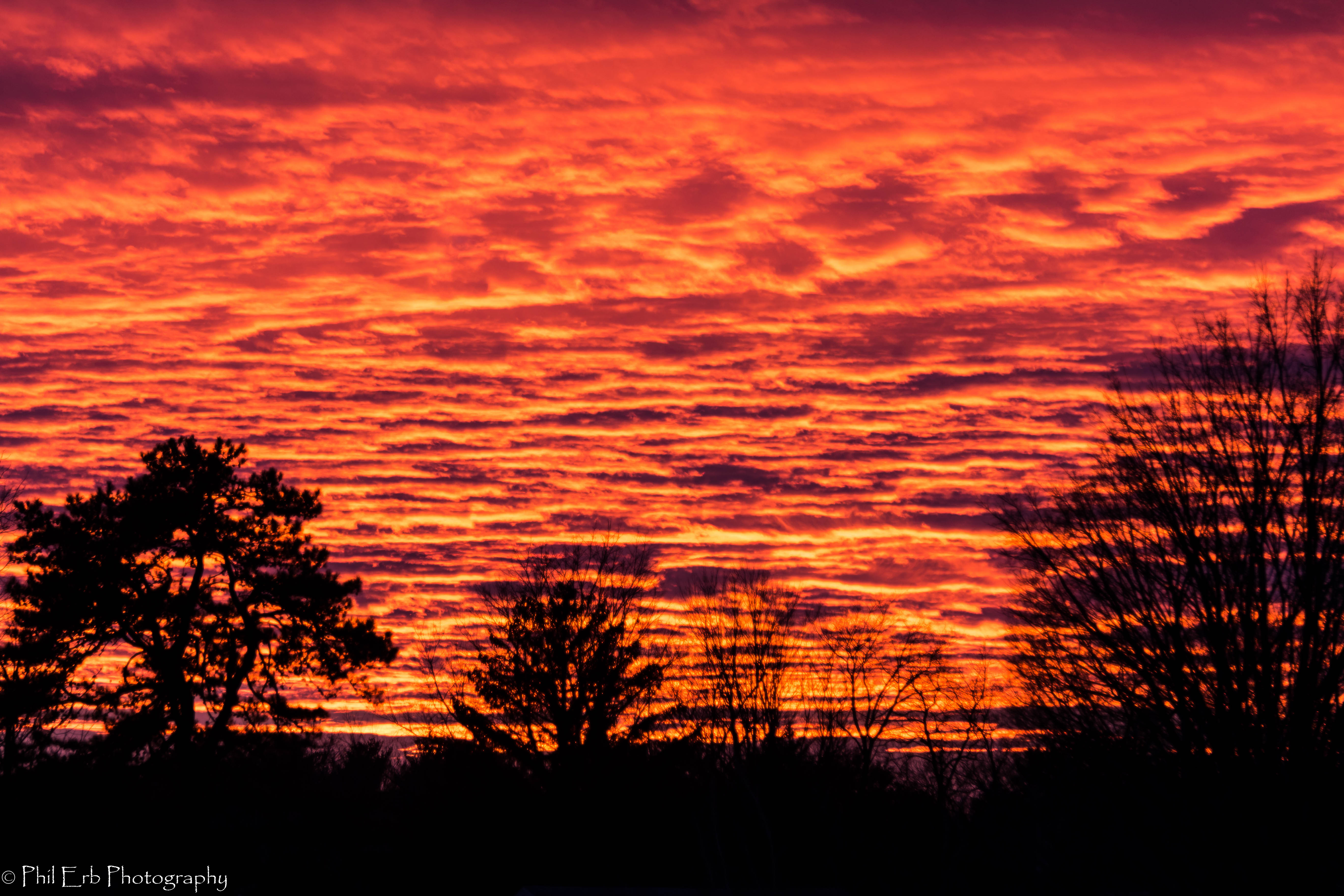 Sky On Fire Phil Erb Photography