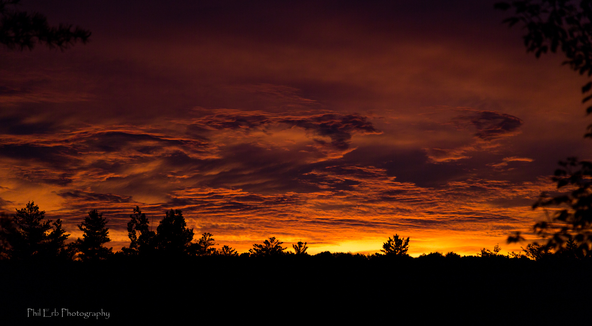 Sinister Sunset Phil Erb Photography